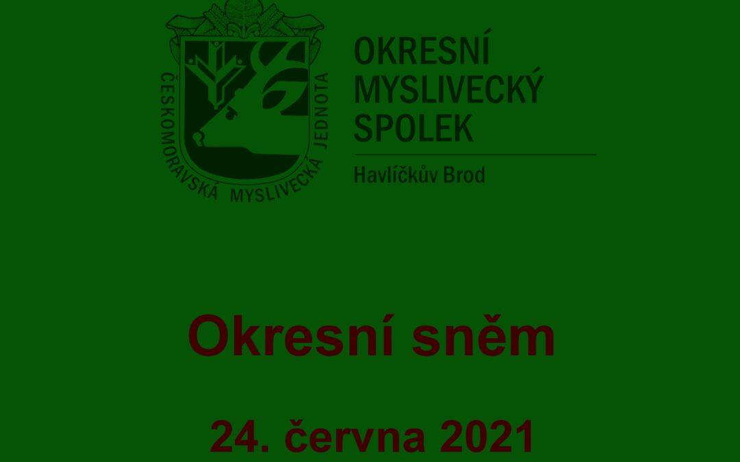 Okresní sněm 2021